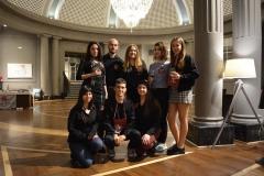 Voluntarios jovenes